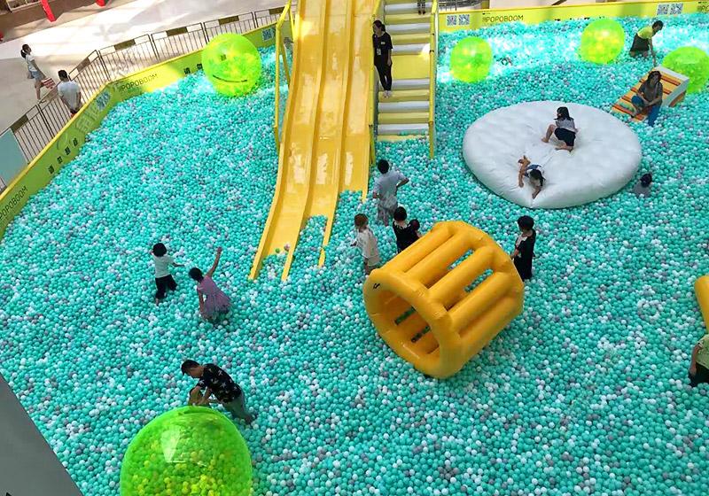 大型海洋球池
