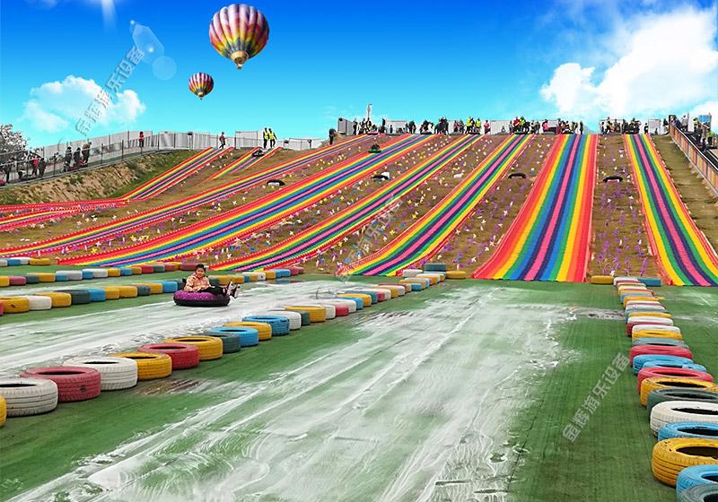 景区彩虹滑道