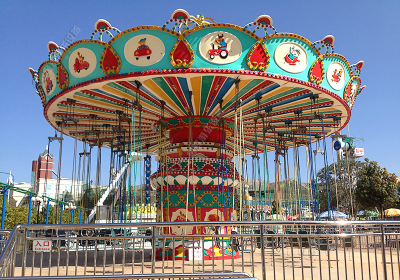 儿童水上乐园设备_旋转飞椅设备|旋转飞椅 - 金辉游乐设备