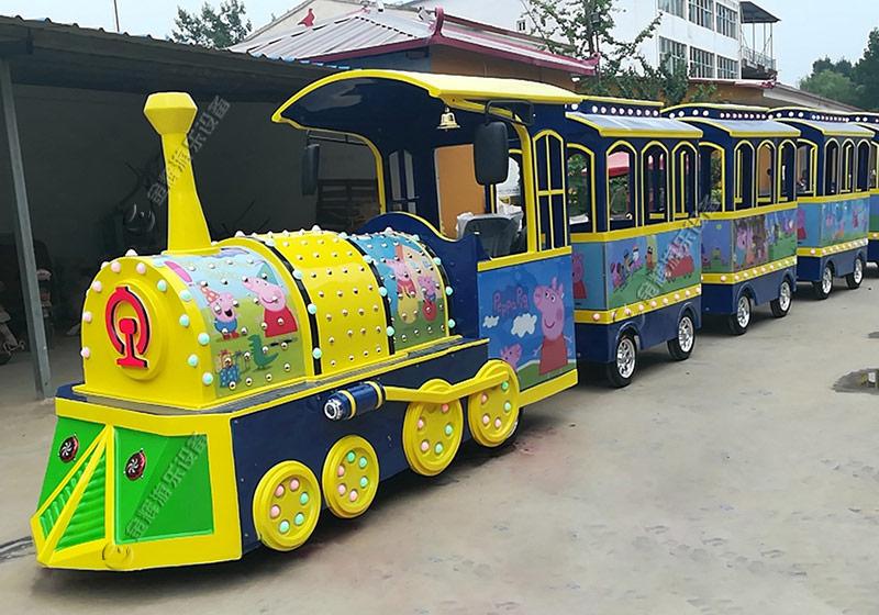 三门峡星河乐园定制无轨小火车